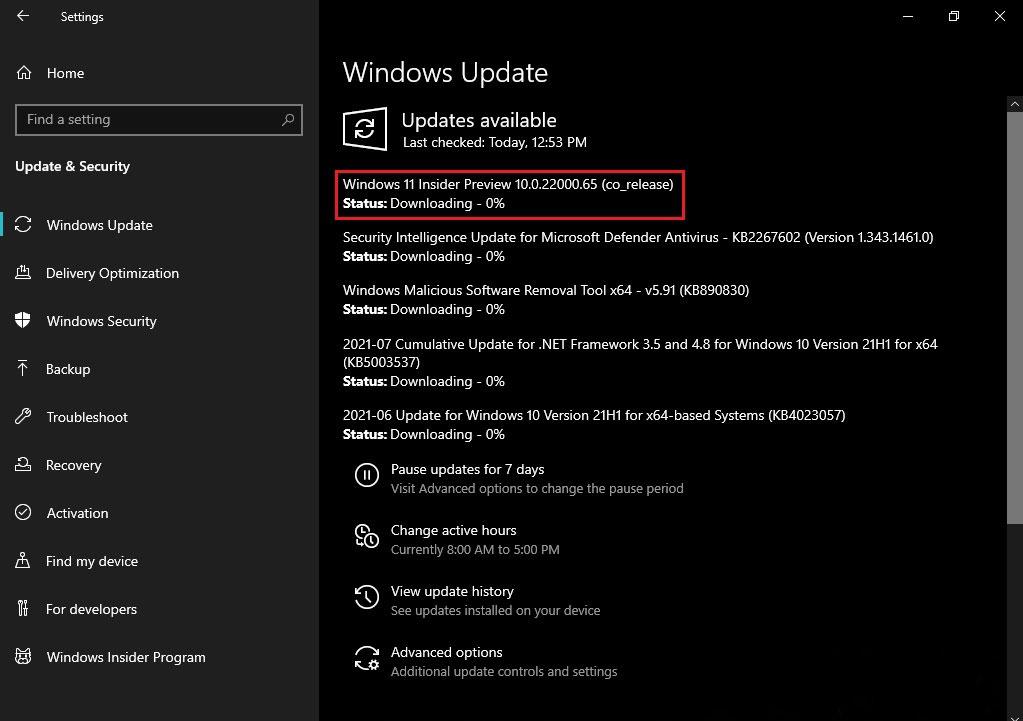 Windows 10 ve Windows 11